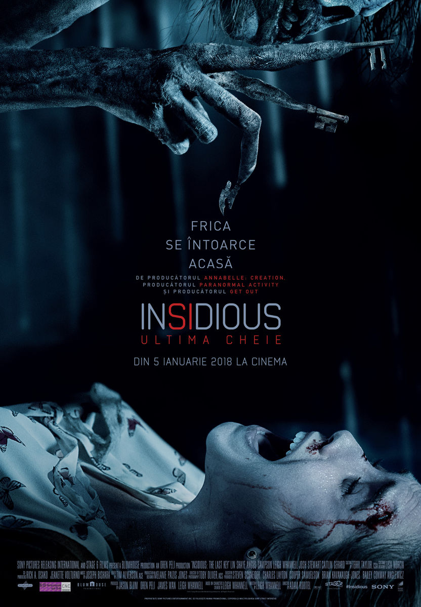 Insidious: Ultima cheie / Insidious: The Last Key