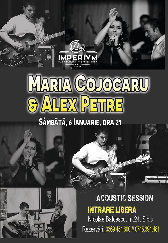 Maria Cojocaru & Alex Petre - Acoustic Session