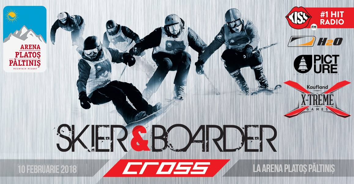 Ski & Snowboard 4 X Cross 2018