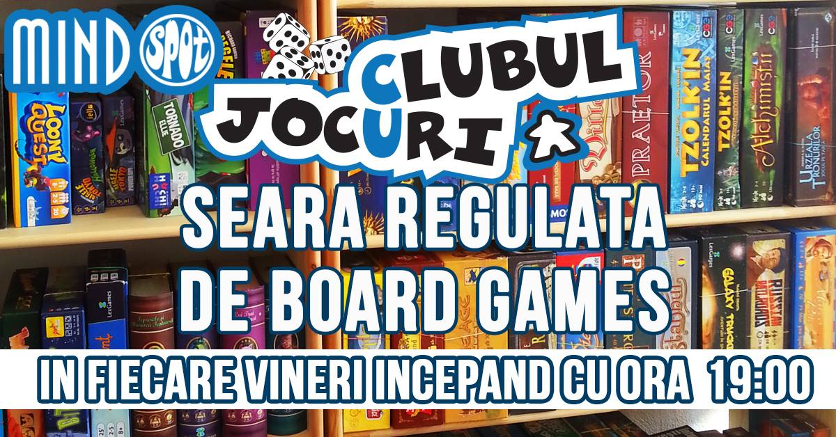 Seara regulata de Board Games