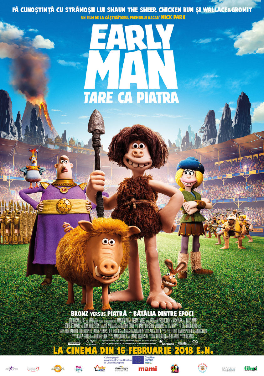 Early Man: Tare ca piatra – 2D Dublat / Early Man