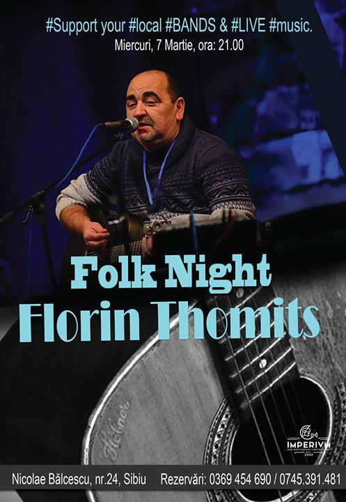 Folk Night ~ Florin Thomits