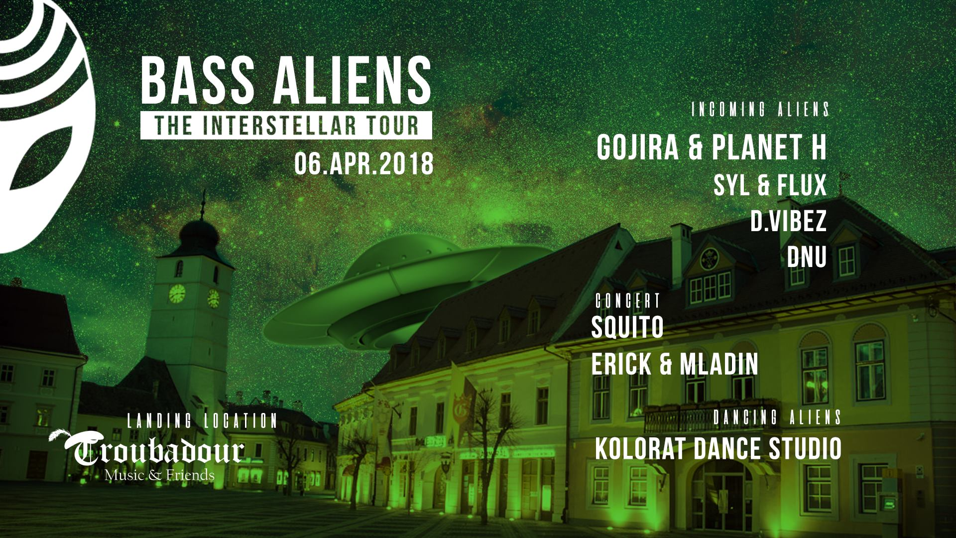Interstellar Tour - Sibiu at Troubadour