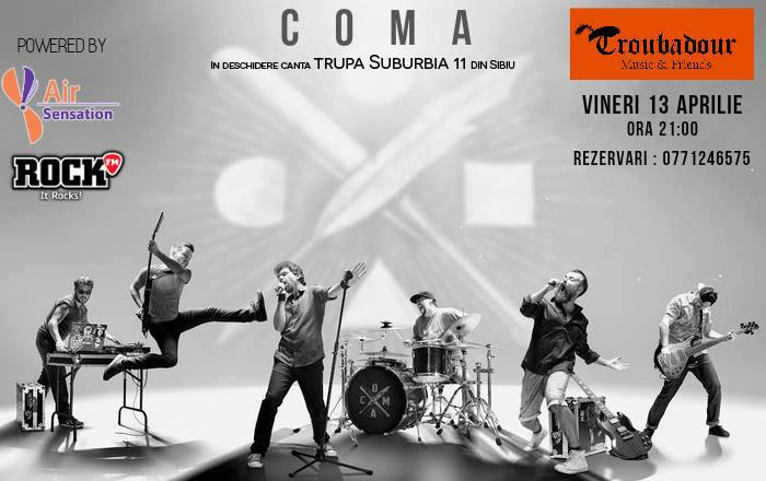 Coma - Concert LIVE