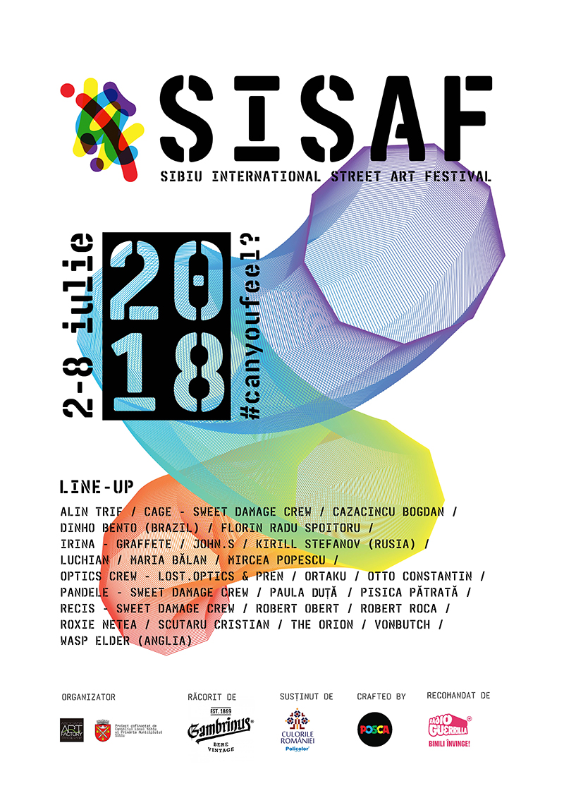 SISAF ◦ Sibiu International Street Art Festival 2018