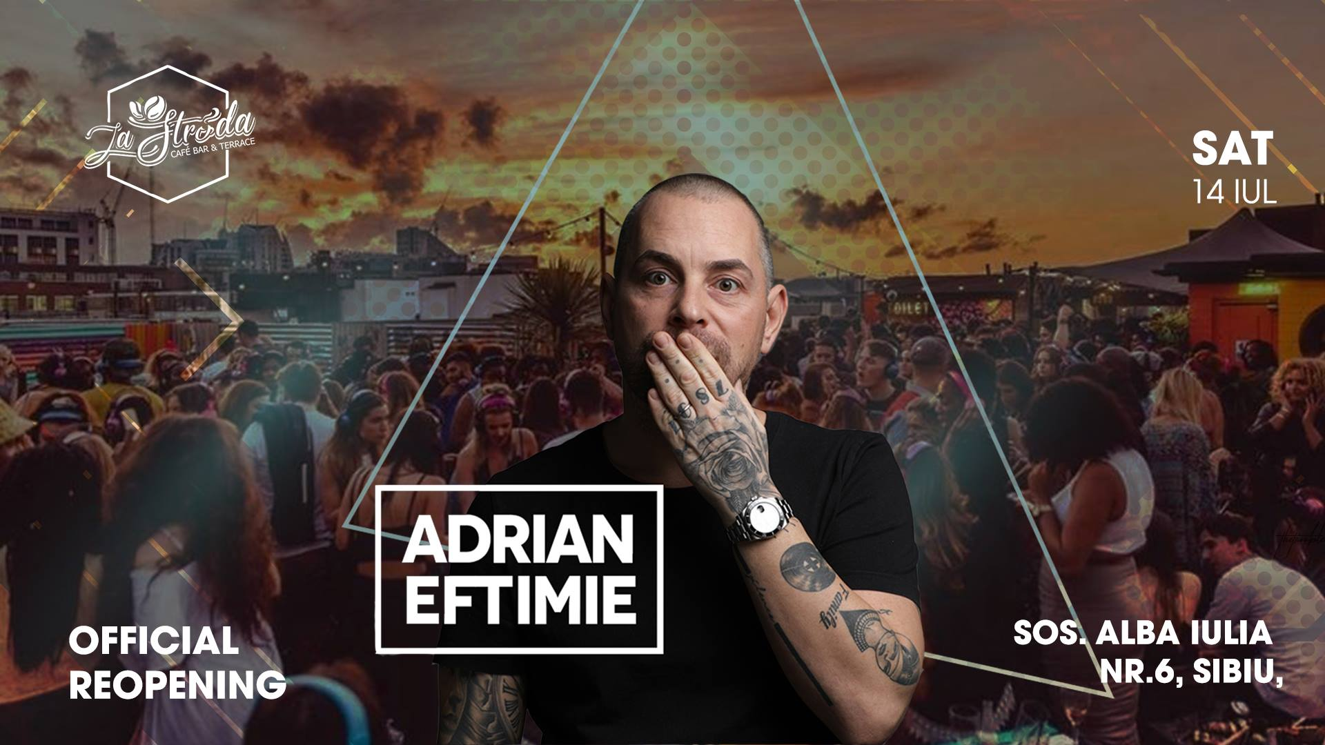 Official Reopening with Adrian Eftimie