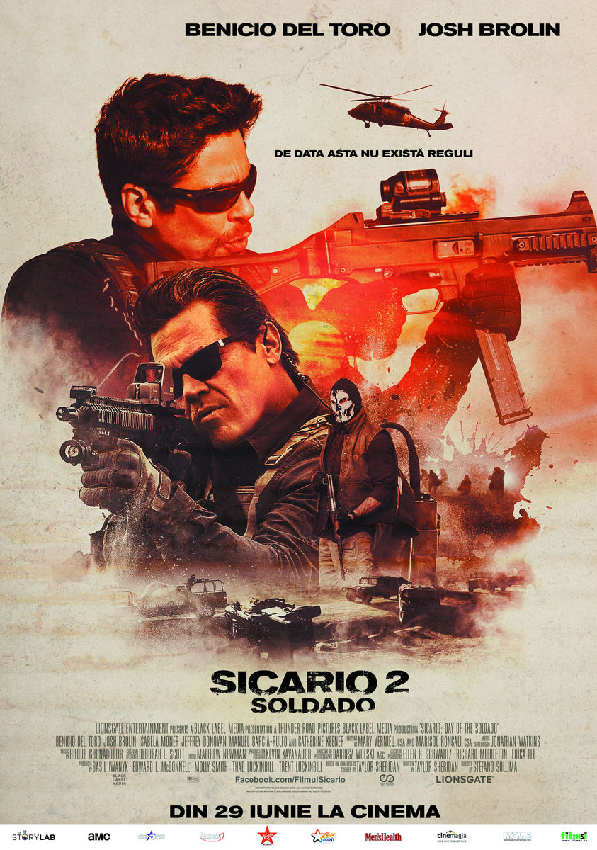 Sicario 2: Soldado / Sicario: Day of the Soldado (Premieră)