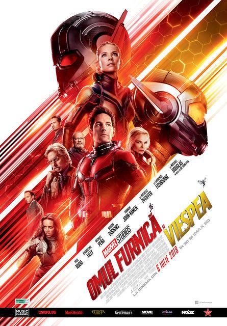Ant-Man and the Wasp (Omul Furnică şi Viespea) - 3D