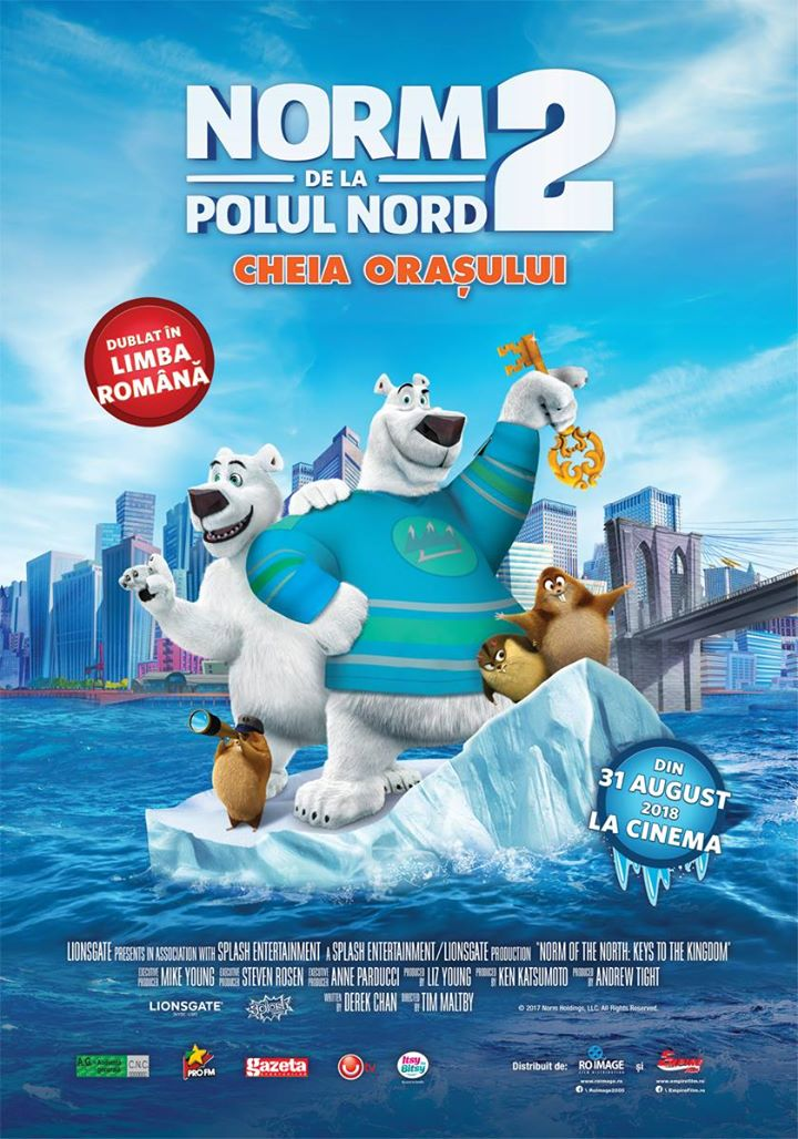 Norm of the North 2: Keys to the Kingdom ( Norm de la Polul Nord 2. Cheia orașului) 2D -Dublat RO