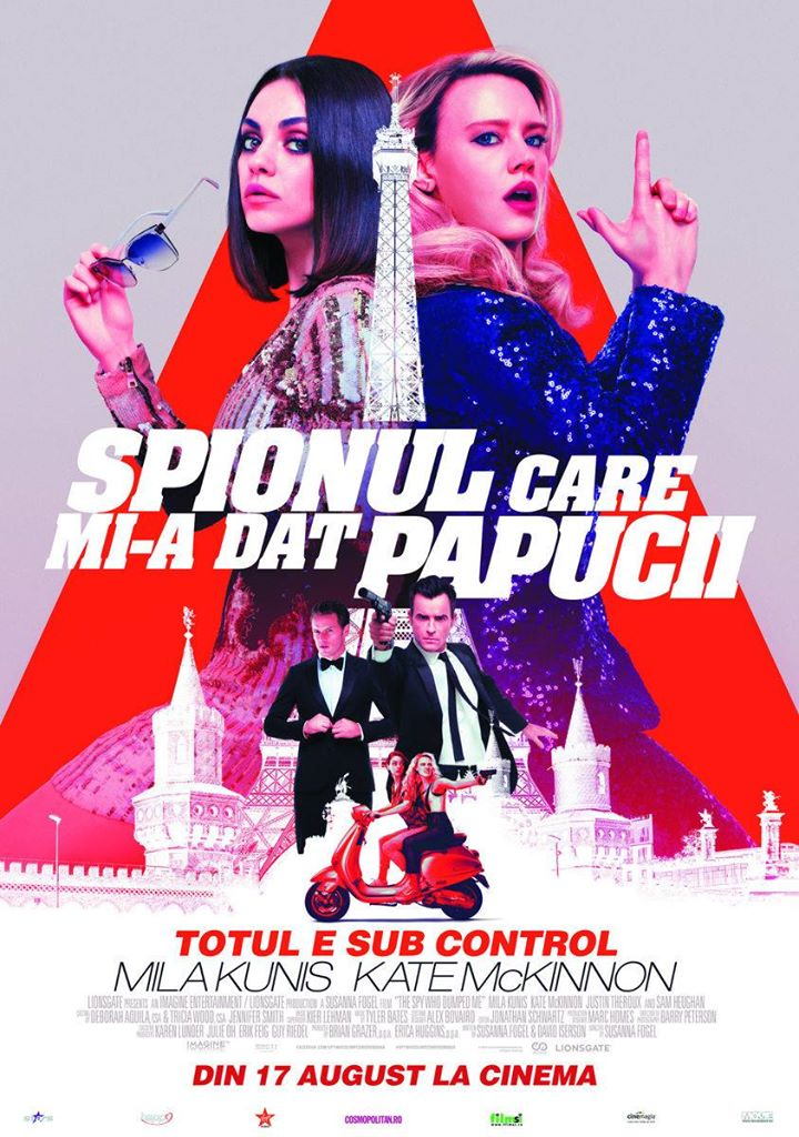 The Spy Who Dumped Me - Spionul care mi-a dat papucii - AVANPREMIERĂ