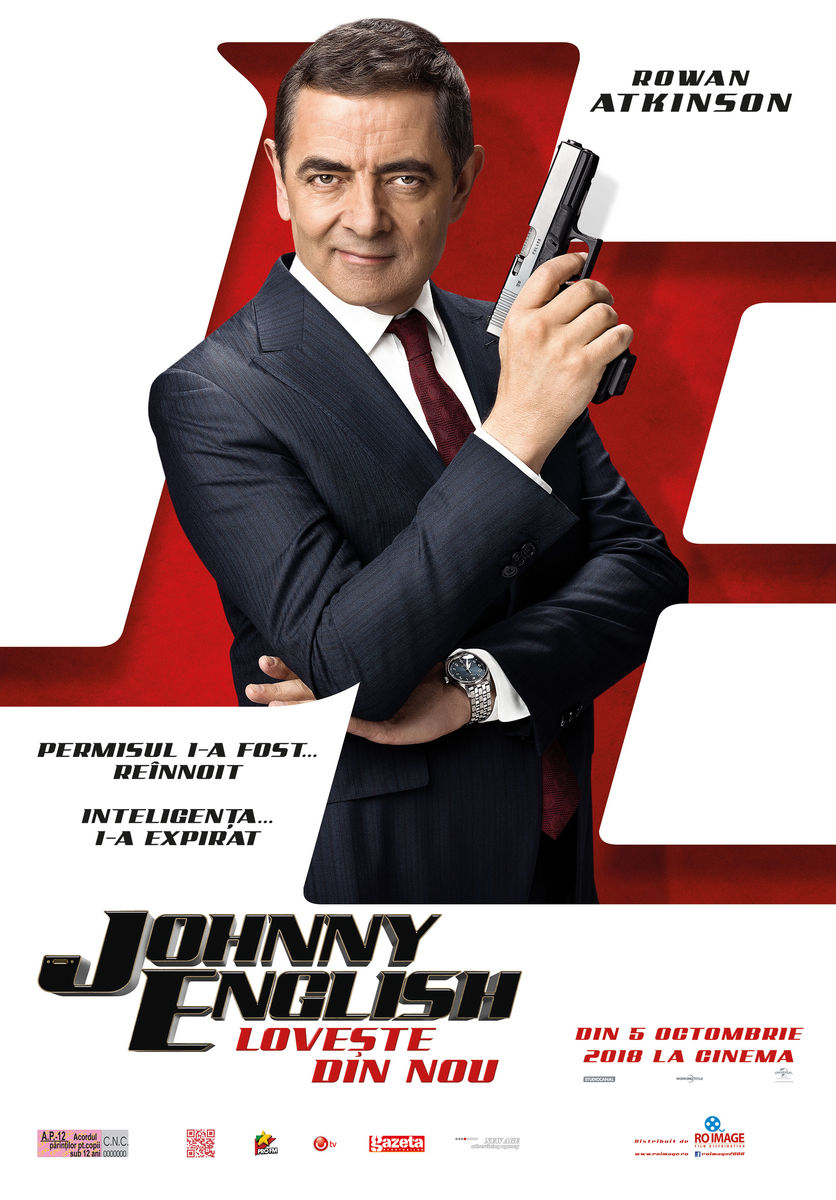 Johnny English loveşte din nou / Johnny English Strikes Again (Avanpremieră)