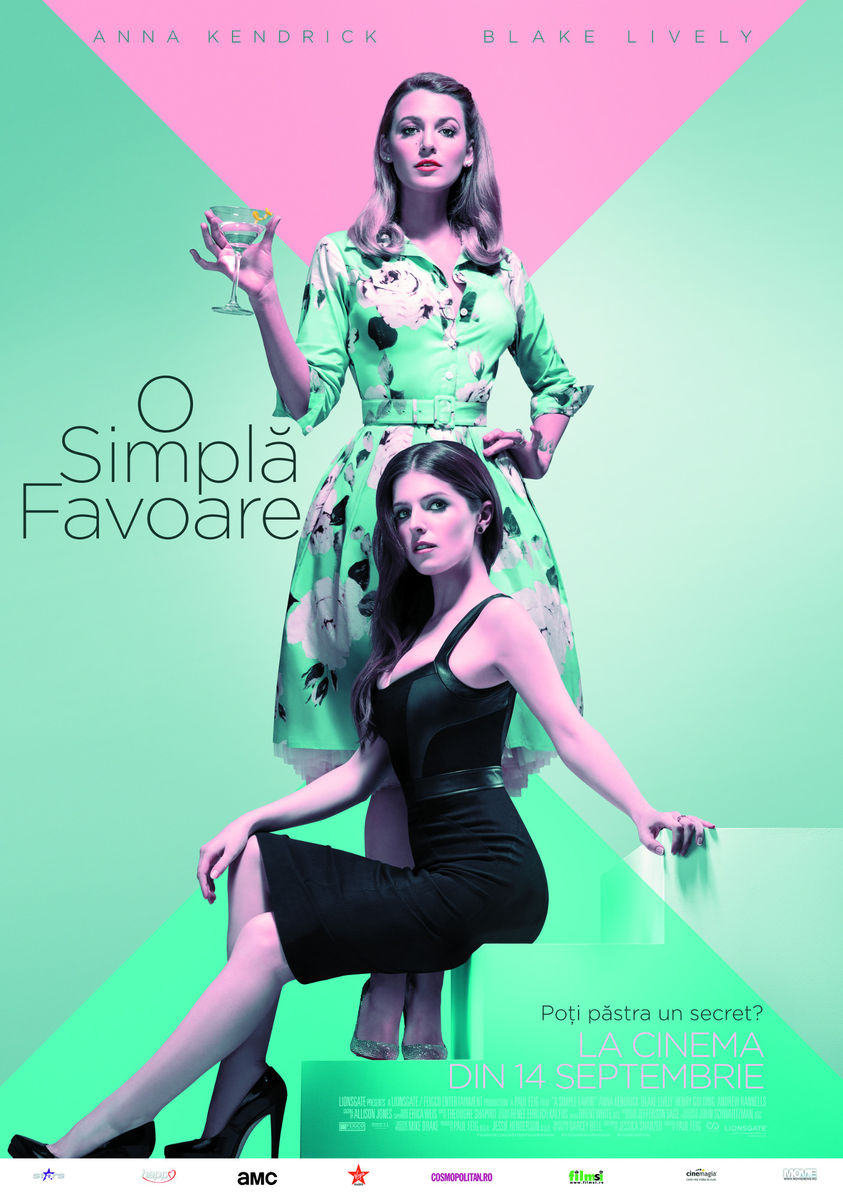 O simplă favoare / A Simple Favor (Avanpremieră)