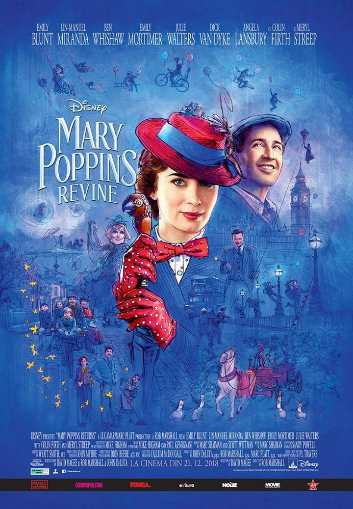 Mary Poppins Returns (Mary Poppins revine)-2D Dublat