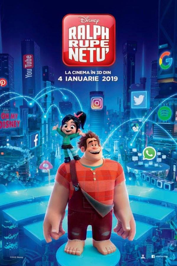 Ralph Breaks the Internet (Ralph rupe netu') - 3D Dublat RO