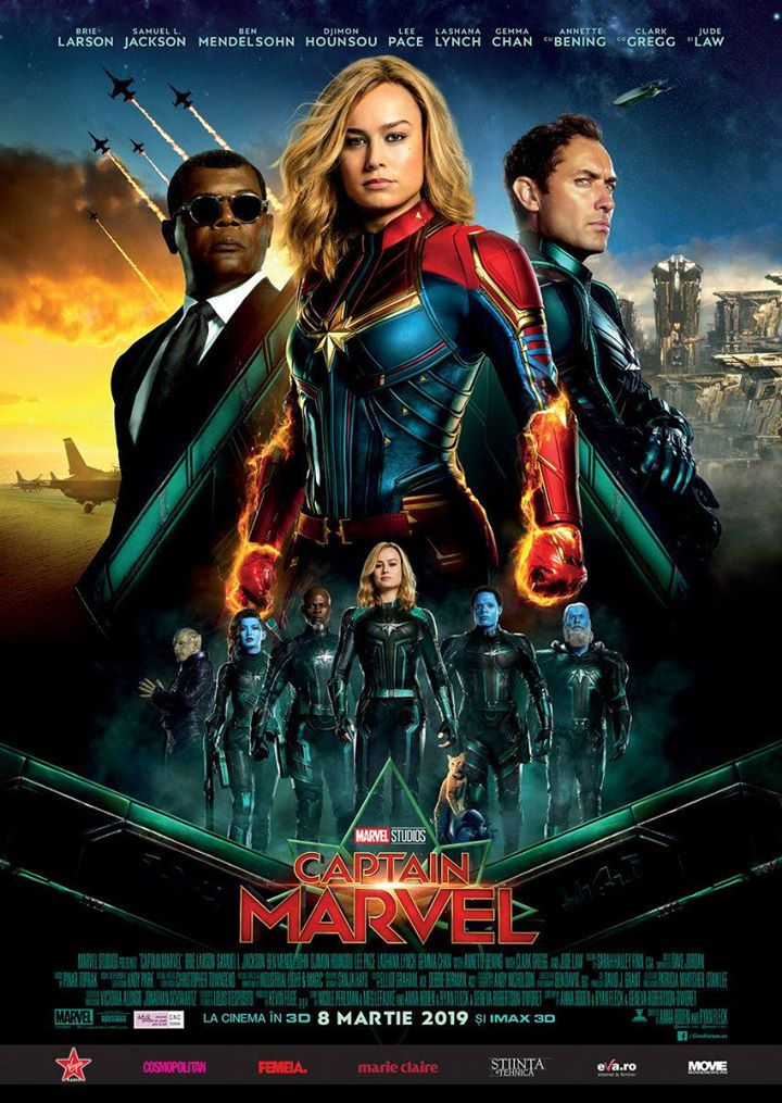 Captain Marvel (Captain Marvel) - 3D