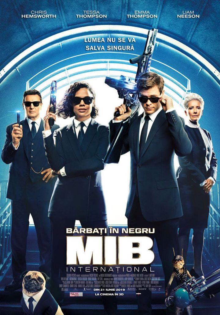 Men in Black: International (Bărbați în Negru Internațional ) - 3D