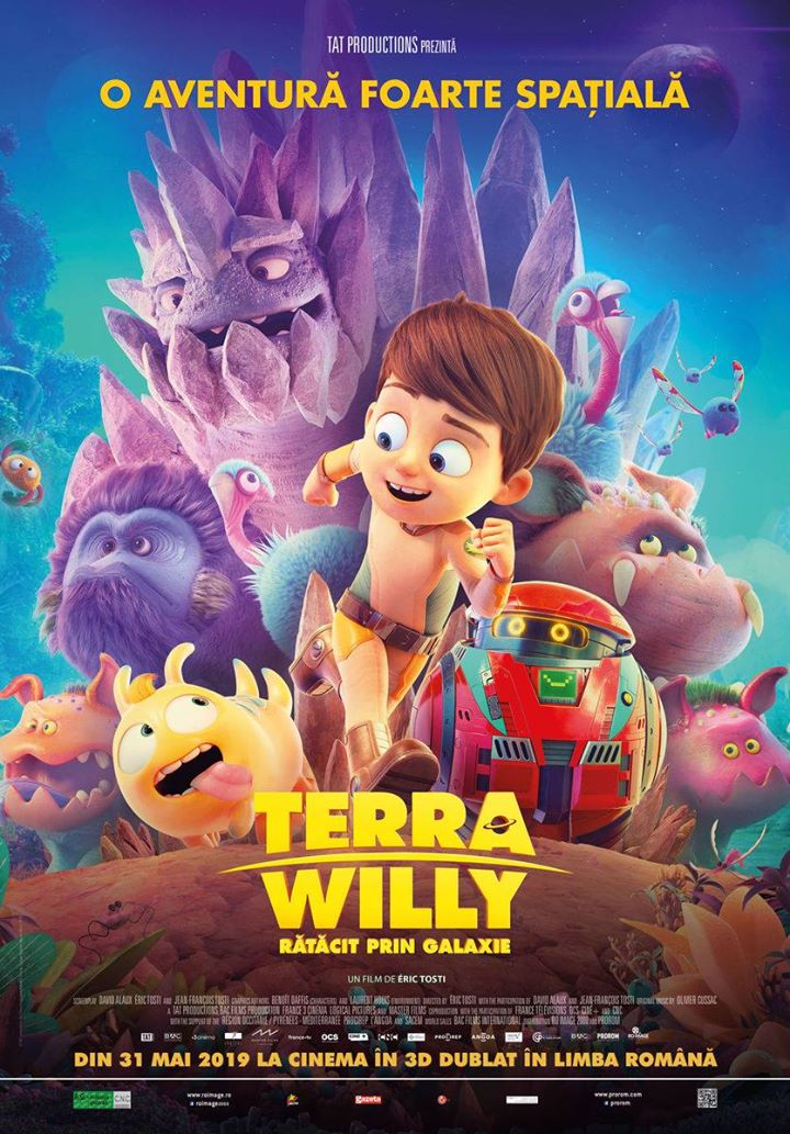Terra Willy: Planète inconnue(Terra Willy: Rătăcit prin galaxie ) - 3D Dublat
