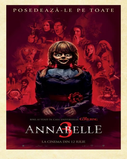 Annabelle Comes Home (Annabelle 3) - 2D
