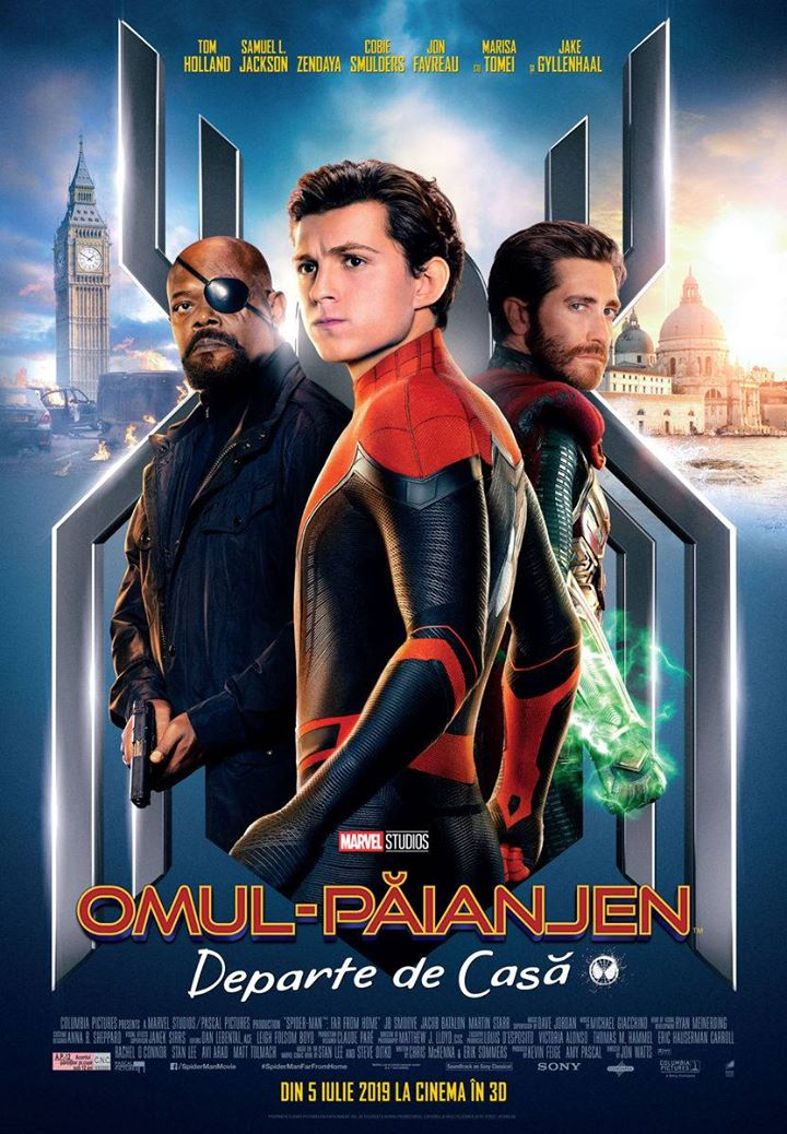 Spider-Man: Far From Home (Omul-Păianjen: Departe de Casă) - 3D