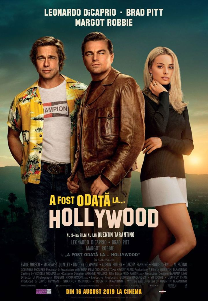 Once Upon a Time in Hollywood (A fost odată la... Hollywood) - 2D