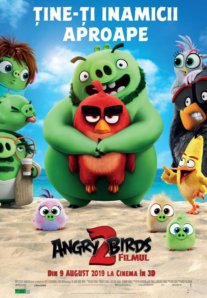 The Angry Birds Movie 2 (Angry Birds: Filmul 2) - 3D Dublat