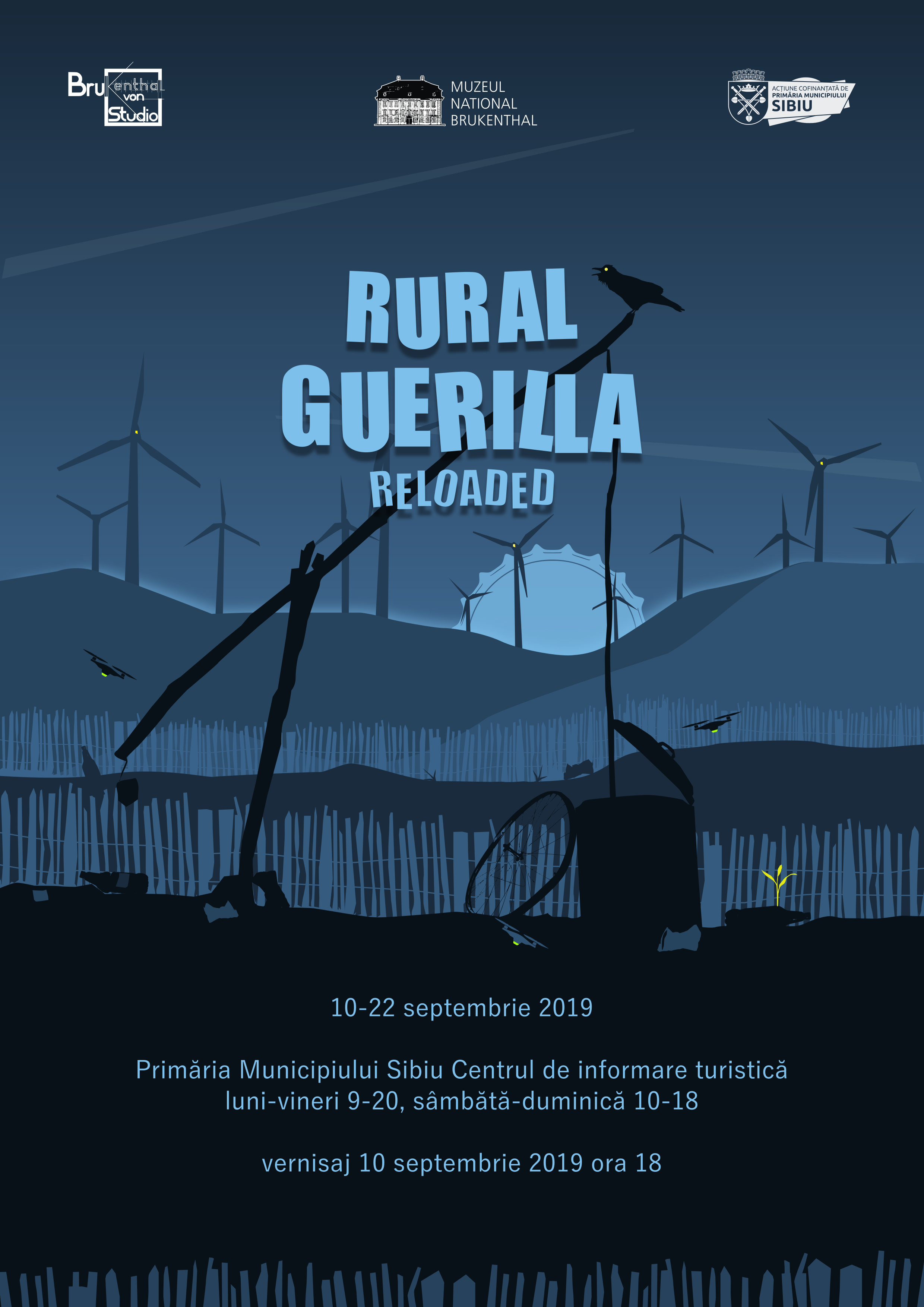 """Rural Guerilla Reloaded"", expoziție de artă contemporană"