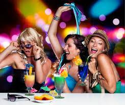 GIRLS' POWER PARTY in NAF NAF