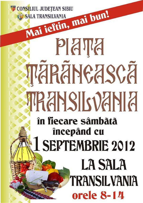 Piaţa ţărănească Transilvania