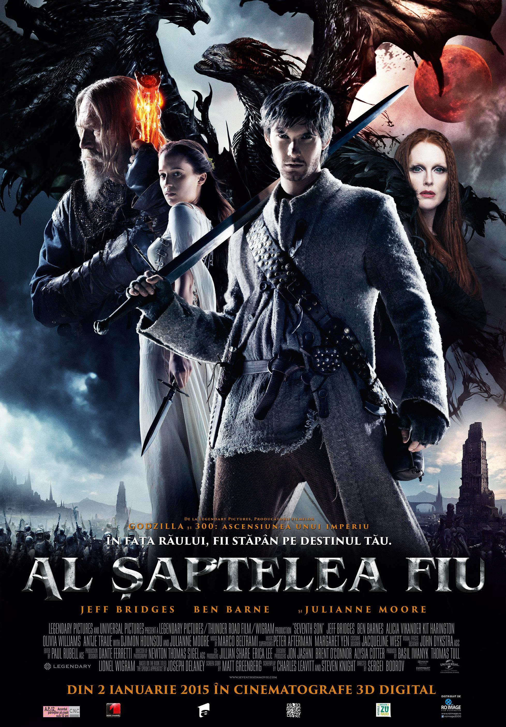 Al Saptelea Fiu – 3D / The Seventh Son – 3D (Premiera)