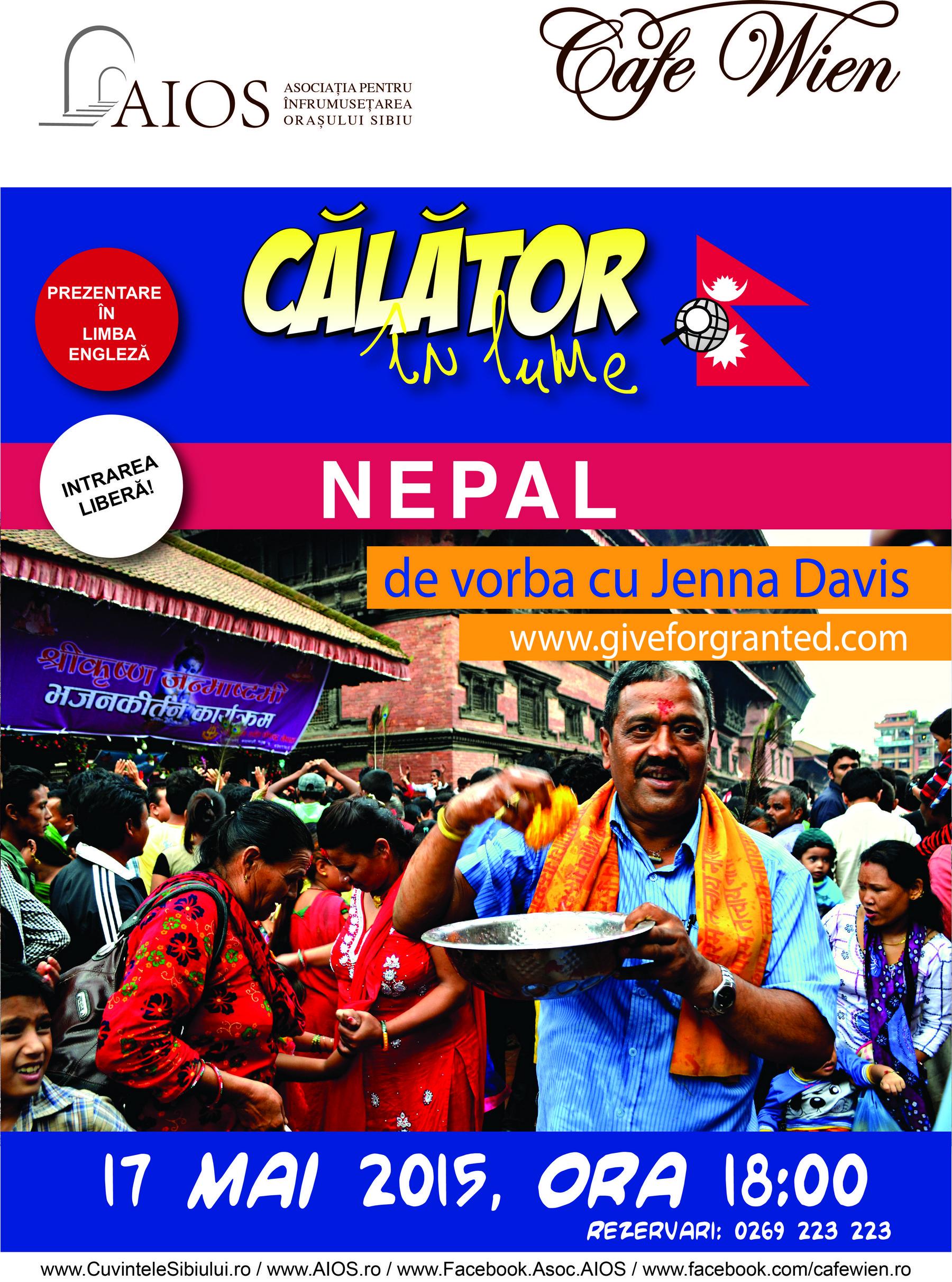 Calator in lume - NEPAL cu Jenna Davis