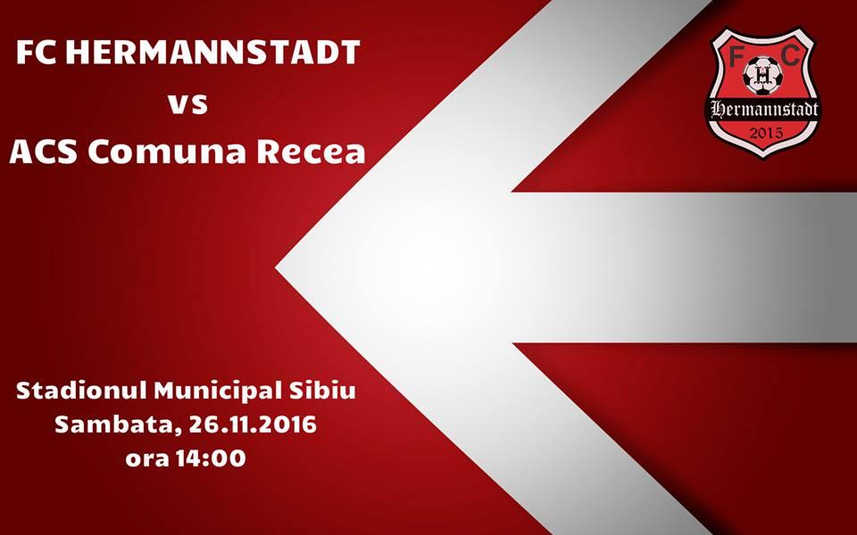 FC Hermannstadt vs ACS Comuna Recea