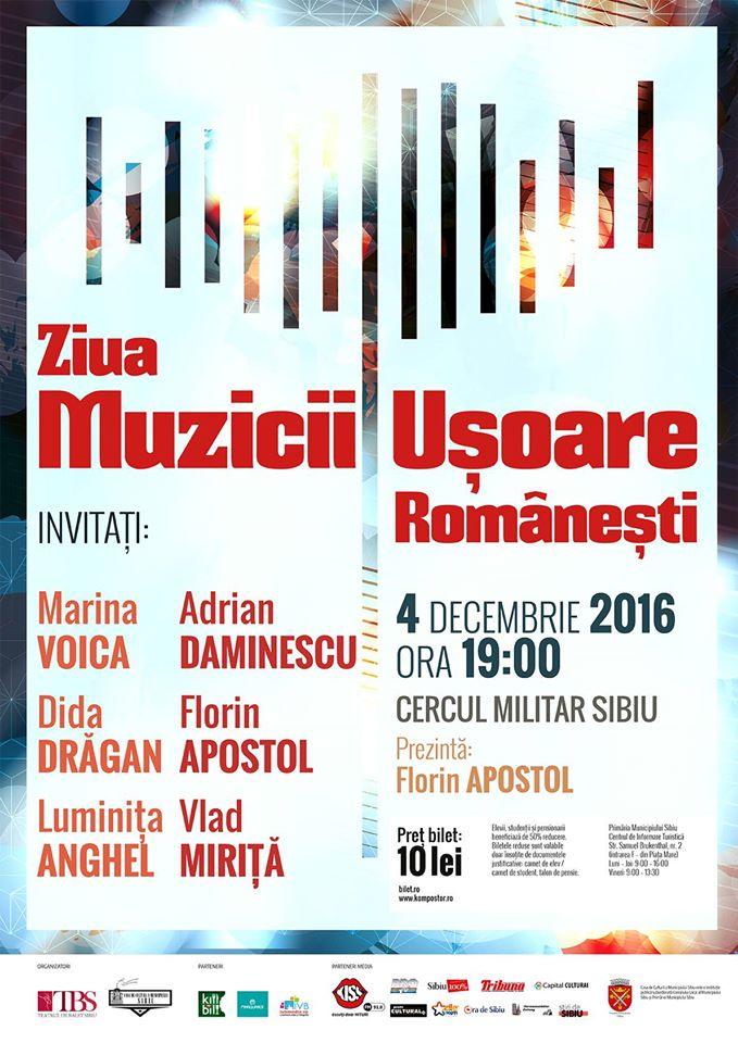 Ziua Muzicii Uşoare Româneşti