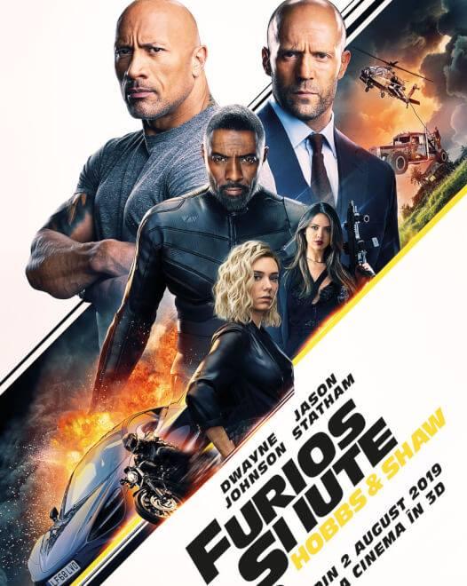 Fast & Furious Presents: Hobbs & Shaw (Furios și iute: Hobbs & Shaw) - 3D